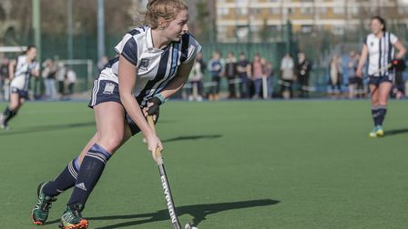 Lucy Hyams attacks (pic Mark Clews)