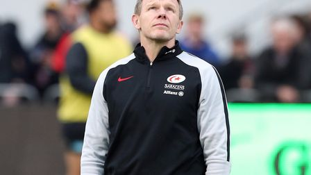 Saracens director of rugby Mark McCall (pic Jonathan Brady/PA)
