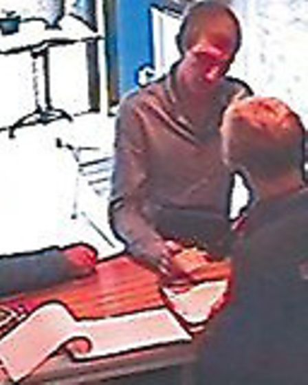 CCTV image of Vasylkov hiring the boat. Picture: National Crime Agency