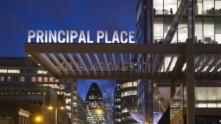Principal Place is the new headquarters of Amazon.