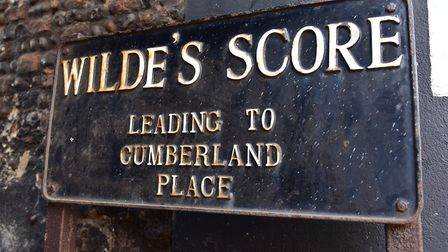 One of the Scores that runs off Lowestoft High Street. Picture: Nick Butcher