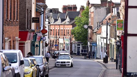 Lowestoft High Street and Scores.Picture: Nick Butcher