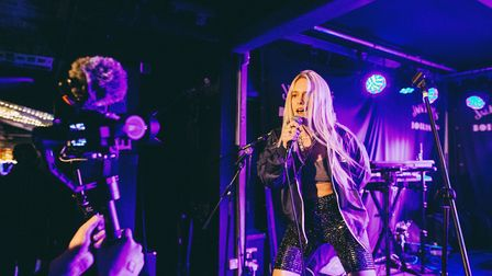 Eva-Lina headlines an all-female line-up of musicians at Moth Club on IWD. Picture: Eva-Lina.
