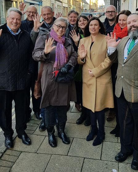 The group supporting the Heritage Action Zone in north Lowestoft. Picture: Courtesy of Waveney Distr