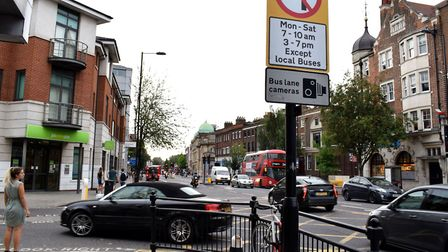 A car turning left into Richmond Road from Mare Street. Picture: Polly Hancock
