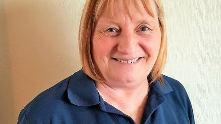Julie Robinson, lifestyle coordinator at Britten Court care home in Lowestoft. Picture: Care UK
