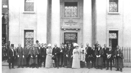 The opening of Chat's Palace on May 31 1913
