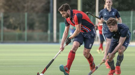 Hampstead & Westminster's Chris Cargo (pic Mark Clews)