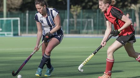 Hampstead & Westminster's Emily Douglas (pic Mark Clews)