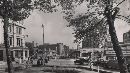 Swiss Cottage in 1952. Picture: Camden Local Studies and Archives Centre