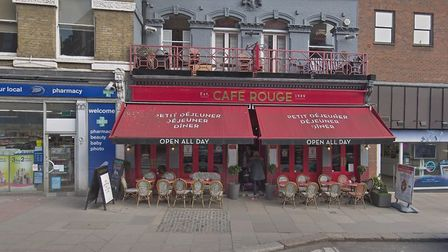 Café Rouge in Hampstead High Street. Picture: Google Maps