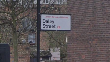 The man died in a fire in Daley Street. Picture: Google