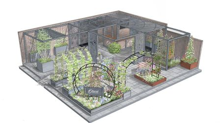Harrod Horticultural's display at the Chelsea Flower Show this year. Picture: Harrod Horticultura