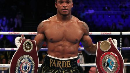 Hackney light heavyweight Anthony Yarde (pic: Chris Radburn/PA)