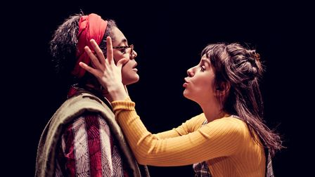 Sara Powell and Natalie Klamar in Keith? A Comedy picture by Idil Sukan
