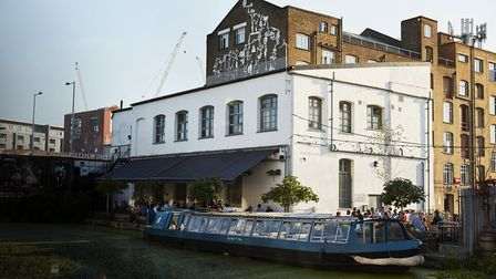 Crate Brewery hope to aim £500k as they completely refurb The White Building in Hackney Wick. Pictur