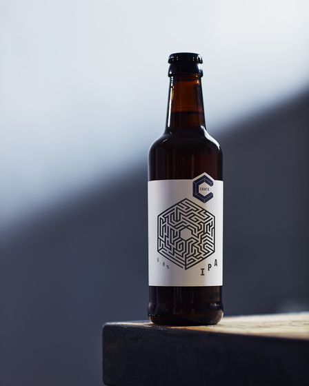 Crate Brewery serve hard-to-find beers and pizzas beside the River Lea. Picture: Crate Brewery
