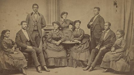 The Fisk Jubilee Singers in 1872. Picture: Library of Congress