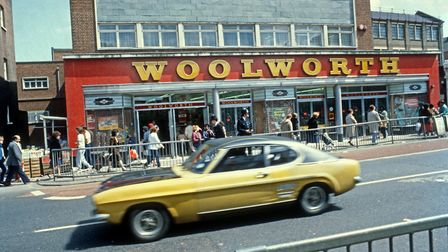 A Woolworth's store on the high street. Picture: Rio Cinema Archive / Alan Denney