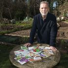 Allan Jenkins author of plot 29 at Branch Hill Allotments