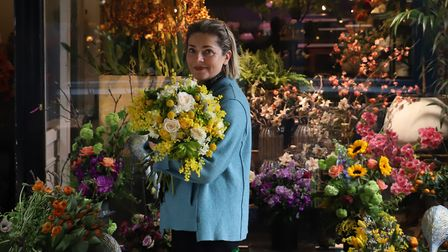 Sayeh Rafiei, 50, who runs Sayeh and Galton Flowers in Hampstead. Picture: Refresch Global