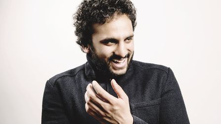 Nish Kumar is playing a second Hackney Empire date as a result of the huge demand. Picture: Idil Suk