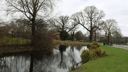 Clissold Park is perfect for rambling. Photo: KEN MEARS