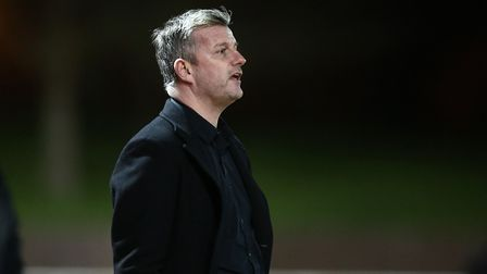 Wingate & Finchley manager Dave Norman (pic: Gavin Ellis/TGS Photo).