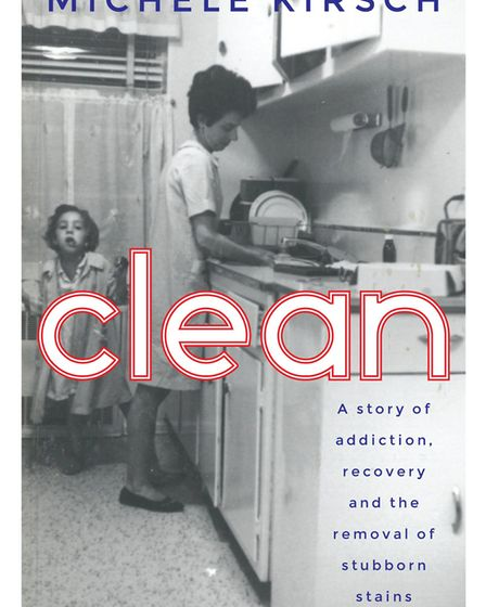 The front cover for Clean, which is published by Short Books and out now.