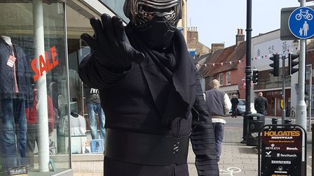 Coffee Heart, in Lowestoft, is set to hold its annual celebration for Star Wars Day. Picture: Courte