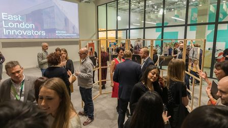 Guests at the event. Picture: Paul Clarke Photography / Exhibition design and modular display system