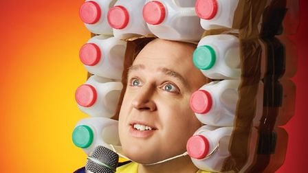 Comedian Tim Vine is set to perform at the Marina Theatre in Lowestoft in October. Picture: Courtesy