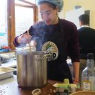 FoodCycle at St Cuthbert's Church in West Hampstead. Picture: FoodCycle
