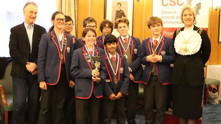 Students from City of London Academy Shoreditch Park (CoLASP) won an inter-school chess competition