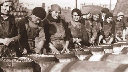 Scots Girls on the pickling plots in the 1930s. Picture: Courtesy of The Grit by Jack Rose and Dean
