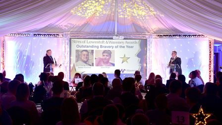 Last year's Stars of Lowestoft and Waveney ceremony. Picture: Nick Butcher.
