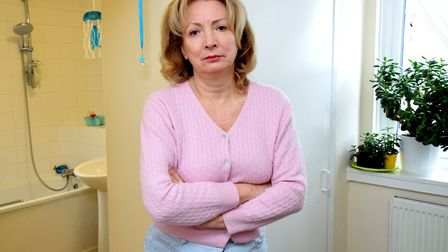 Mariana Clarke has been living with loud noises in her plumbing for three and a half years. Picture: