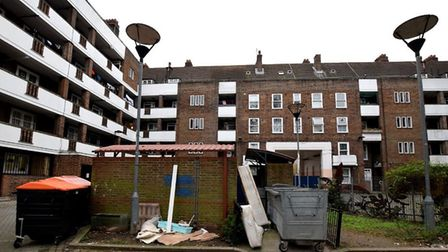 The Stamford Hill estate, where flats were selling for £415,000 in 2017. Picture: Polly Hancock
