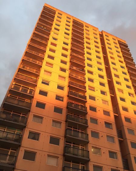 Landmark Heights in Clapton, where flats have recently sold for £325,000. Picture: Alistair Siddons