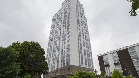 Bray tower on the Chalcots Estate in Camden. Picture: PA Archive/David Mirzoeff