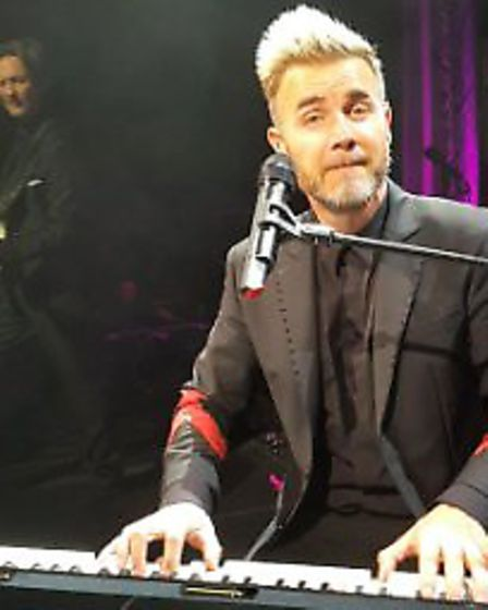 Superfan Emma Lewis filmed Gary Barlow singing her a personal Happy Birthday. Picture: Emma Lewis