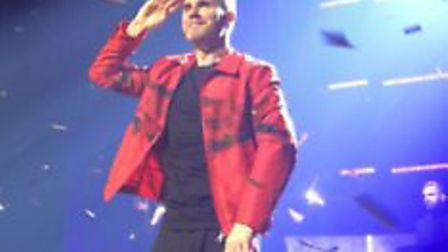 Emma had travelled for 20 hours to see the Take That member perform in Aberdeen. Picture: Emma Lewis