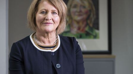 Anne Longfield, the Children's Commissioner for England. Picture: Jeff GIlbert.