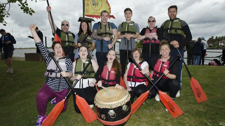 The Corton Coastal Resort team at a previous festival. Pictures: Courtesy of Gable Events