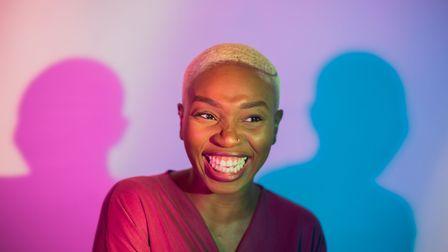 Ruth Sutoye, together with Aliyah Hasinah, has curated and produced Bald Black Girl(s). Picture: Alm