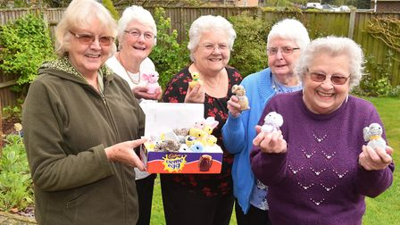 Zoiyar Cole and friends have donated nearly £3,000 to the James Paget Hospital after selling easter