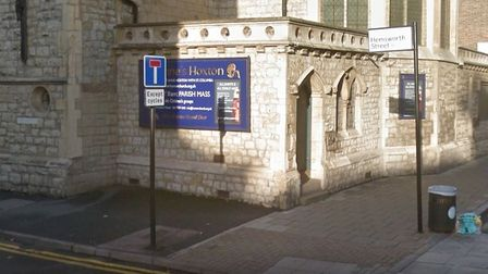 The teen was found in Hemsworth Street, Hoxton. Picture: Google Maps