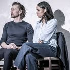 Tom Hiddleston and Zawe Ashton in Betrayal picture by Marc Brenner
