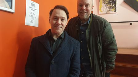 The League of Gentlemen and Inside No.9 actors Reece Shearsmith and Steve Pemberton. Picture: Harry