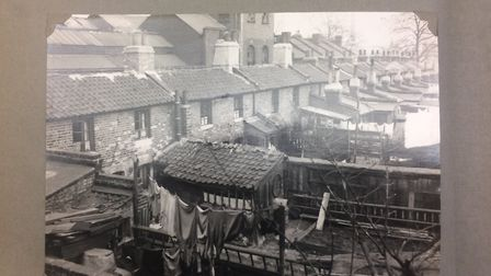 Some of the slum housing in 1935. Picture: Hackney Archives